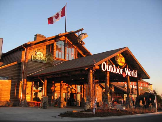 In the US and Canada. Bass Pro Shops and Cabela's are one team now. Learn More. City, State/Provice, Zip or City & Country search button. Bass Pro Shops. Cabela's. United States Bass Pro Dr Spanish Fort, AL US. Main Phone () () Get Directions.