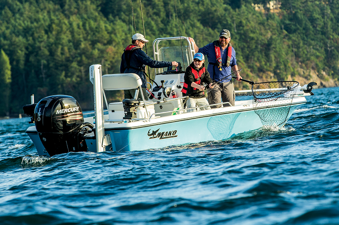 Mako - Offshore Saltwater Sport & Inshore Fishing Boats